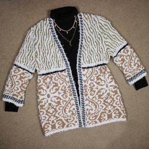 Chico's Open Front Knit Cardigan Size 1 (Medium)